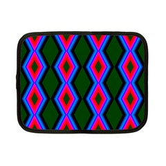 Quadrate Repetition Abstract Pattern Netbook Case (Small)