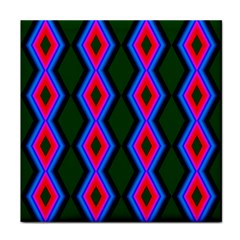 Quadrate Repetition Abstract Pattern Face Towel