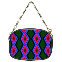 Quadrate Repetition Abstract Pattern Chain Purses (Two Sides)