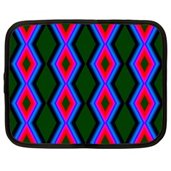 Quadrate Repetition Abstract Pattern Netbook Case (xl)