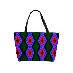 Quadrate Repetition Abstract Pattern Shoulder Handbags
