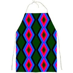 Quadrate Repetition Abstract Pattern Full Print Aprons