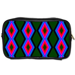 Quadrate Repetition Abstract Pattern Toiletries Bags