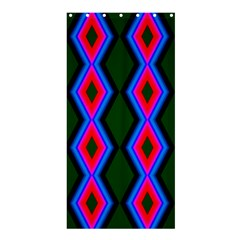 Quadrate Repetition Abstract Pattern Shower Curtain 36  x 72  (Stall)