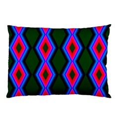 Quadrate Repetition Abstract Pattern Pillow Case (Two Sides)