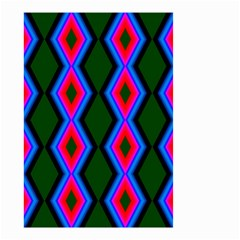 Quadrate Repetition Abstract Pattern Small Garden Flag (two Sides)