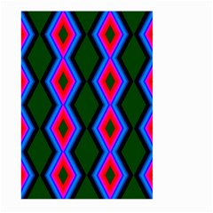 Quadrate Repetition Abstract Pattern Large Garden Flag (Two Sides)