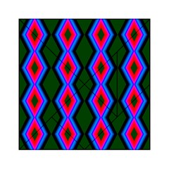 Quadrate Repetition Abstract Pattern Acrylic Tangram Puzzle (6  x 6 )
