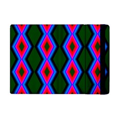 Quadrate Repetition Abstract Pattern Apple iPad Mini Flip Case