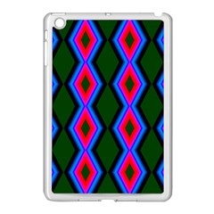 Quadrate Repetition Abstract Pattern Apple Ipad Mini Case (white)