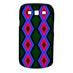 Quadrate Repetition Abstract Pattern Samsung Galaxy S III Classic Hardshell Case (PC+Silicone)