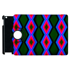 Quadrate Repetition Abstract Pattern Apple iPad 2 Flip 360 Case