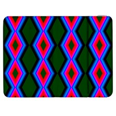 Quadrate Repetition Abstract Pattern Samsung Galaxy Tab 7  P1000 Flip Case