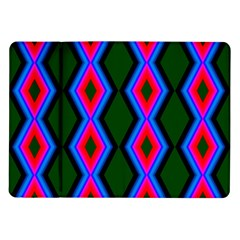 Quadrate Repetition Abstract Pattern Samsung Galaxy Tab 10 1  P7500 Flip Case