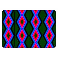 Quadrate Repetition Abstract Pattern Samsung Galaxy Tab 8 9  P7300 Flip Case