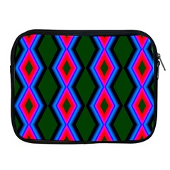 Quadrate Repetition Abstract Pattern Apple Ipad 2/3/4 Zipper Cases