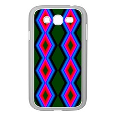 Quadrate Repetition Abstract Pattern Samsung Galaxy Grand DUOS I9082 Case (White)