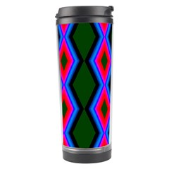 Quadrate Repetition Abstract Pattern Travel Tumbler