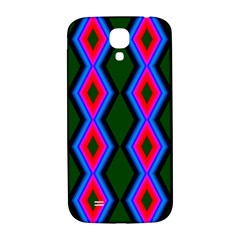 Quadrate Repetition Abstract Pattern Samsung Galaxy S4 I9500/I9505  Hardshell Back Case