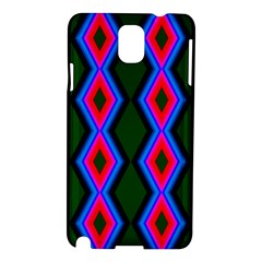 Quadrate Repetition Abstract Pattern Samsung Galaxy Note 3 N9005 Hardshell Case