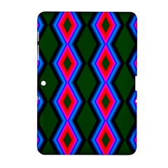 Quadrate Repetition Abstract Pattern Samsung Galaxy Tab 2 (10.1 ) P5100 Hardshell Case