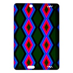 Quadrate Repetition Abstract Pattern Amazon Kindle Fire Hd (2013) Hardshell Case