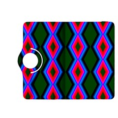 Quadrate Repetition Abstract Pattern Kindle Fire Hdx 8 9  Flip 360 Case