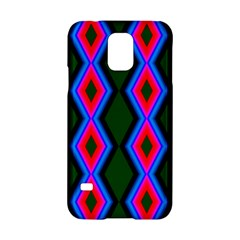 Quadrate Repetition Abstract Pattern Samsung Galaxy S5 Hardshell Case