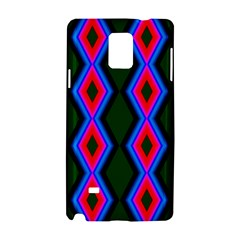 Quadrate Repetition Abstract Pattern Samsung Galaxy Note 4 Hardshell Case