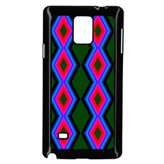 Quadrate Repetition Abstract Pattern Samsung Galaxy Note 4 Case (black)
