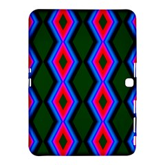 Quadrate Repetition Abstract Pattern Samsung Galaxy Tab 4 (10.1 ) Hardshell Case