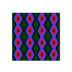 Quadrate Repetition Abstract Pattern Satin Bandana Scarf