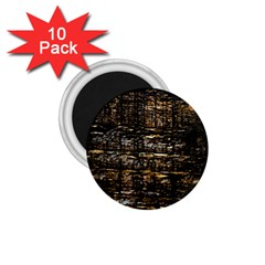 Wood Texture Dark Background Pattern 1 75  Magnets (10 Pack)