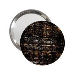Wood Texture Dark Background Pattern 2.25  Handbag Mirrors