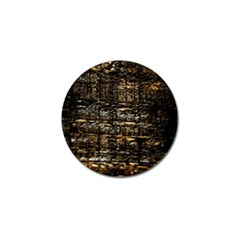 Wood Texture Dark Background Pattern Golf Ball Marker