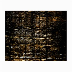 Wood Texture Dark Background Pattern Small Glasses Cloth
