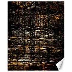 Wood Texture Dark Background Pattern Canvas 16  X 20
