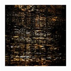 Wood Texture Dark Background Pattern Medium Glasses Cloth