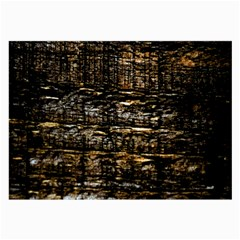 Wood Texture Dark Background Pattern Large Glasses Cloth (2 Side)