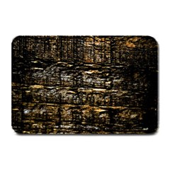 Wood Texture Dark Background Pattern Plate Mats