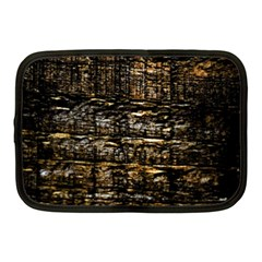 Wood Texture Dark Background Pattern Netbook Case (medium)