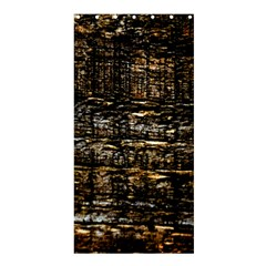 Wood Texture Dark Background Pattern Shower Curtain 36  x 72  (Stall)