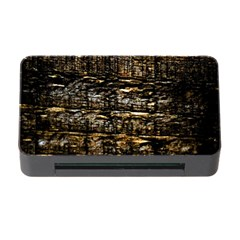 Wood Texture Dark Background Pattern Memory Card Reader with CF