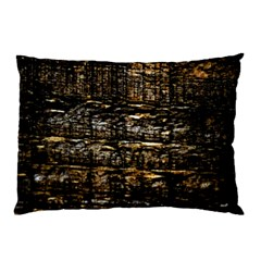 Wood Texture Dark Background Pattern Pillow Case (Two Sides)