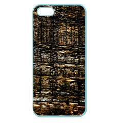Wood Texture Dark Background Pattern Apple Seamless iPhone 5 Case (Color)