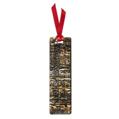 Wood Texture Dark Background Pattern Small Book Marks
