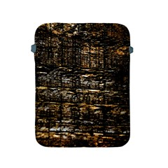 Wood Texture Dark Background Pattern Apple Ipad 2/3/4 Protective Soft Cases