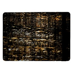 Wood Texture Dark Background Pattern Samsung Galaxy Tab Pro 12 2  Flip Case