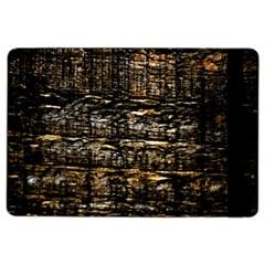 Wood Texture Dark Background Pattern Ipad Air 2 Flip