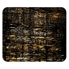 Wood Texture Dark Background Pattern Double Sided Flano Blanket (Small)